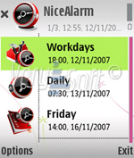 NiceAlarm screenshot1